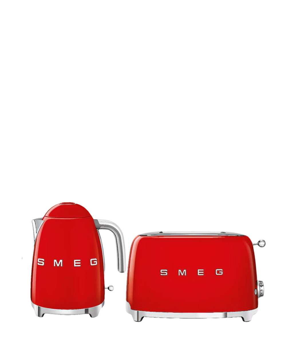 Smeg Kettle & Toaster Combo - Red