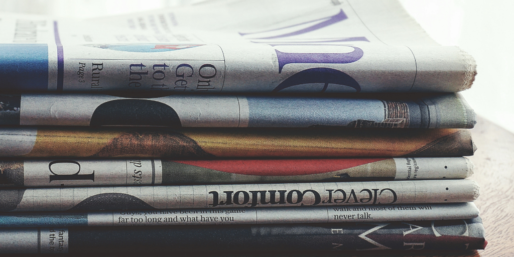 5 ways to REFASH Newspapers