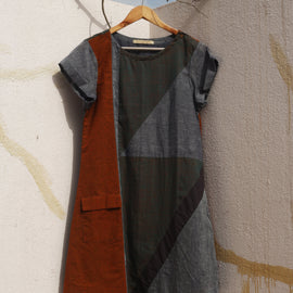 Grey Myra Dress