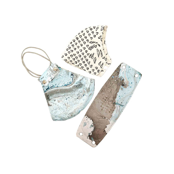 Ocean Mask (Set of 3)