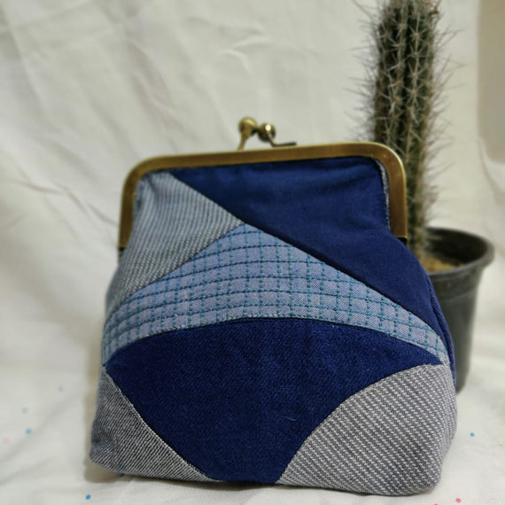 Shades of Blue Bag - REFASH