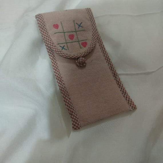 Cross & Heart Pen Holder