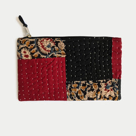 Red and Black Multipurpose Pouch