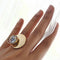 Disc Statement Ring - REFASH