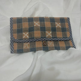 Quilted Retro Wallet