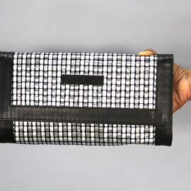 Alu Black Clutch