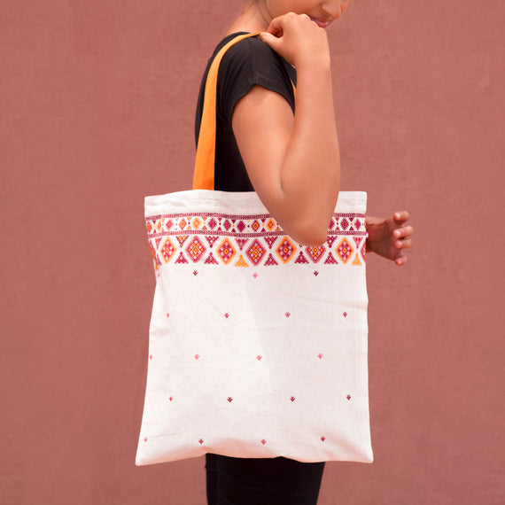 Aztec Reversible Tote Bag - REFASH