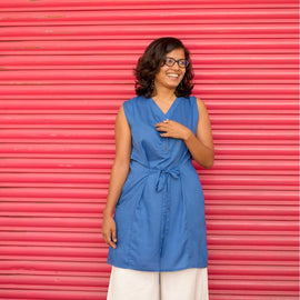 Azurite Tunic Dress