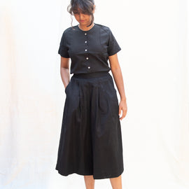 Noir Skirty Pants