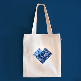 Equal Love Blue Tote Bag