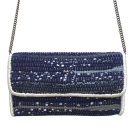 Chindi Handbag Night Sky