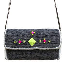 Chindi Handbag Pewter