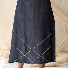 Paris Denim Skirt - REFASH