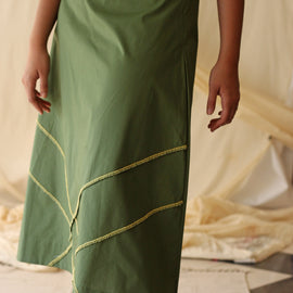 Paris Skirt Green - REFASH