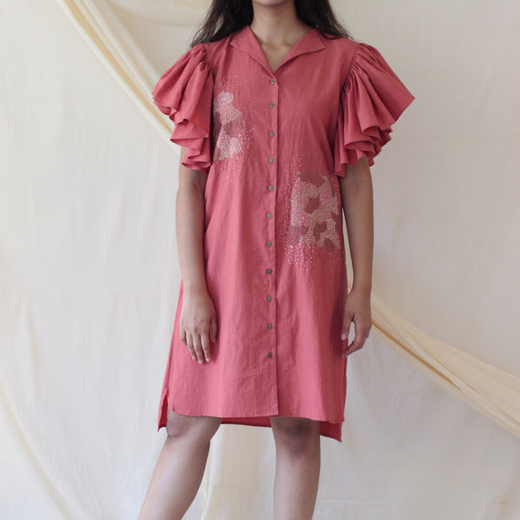 Destiny Dress Pink - REFASH