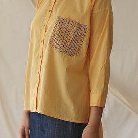 Essence Shirt Yellow - REFASH