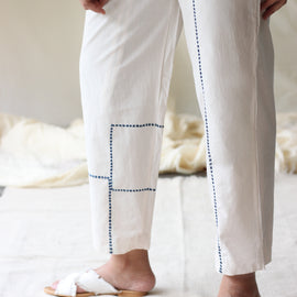 Joy Pants Ivory - REFASH
