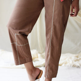 Joy Pants Beige - REFASH