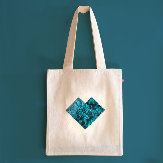Equal Love Green Tote Bag