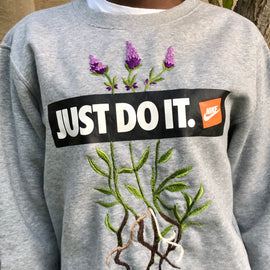Lavender Beginnings Sweatshirt - REFASH