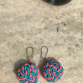 Rani Didi Earrings Candy Floss