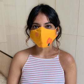 Citrus Upcycled Mask - REFASH