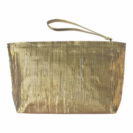 Sara Metallic Clutch - REFASH