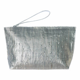 Gilda Metallic Clutch - REFASH