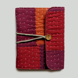 Organiser Book - Purple and Rust