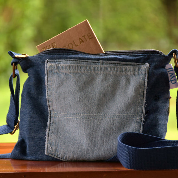 Denim Sling Bag
