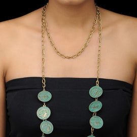 Hanging Coins Necklace