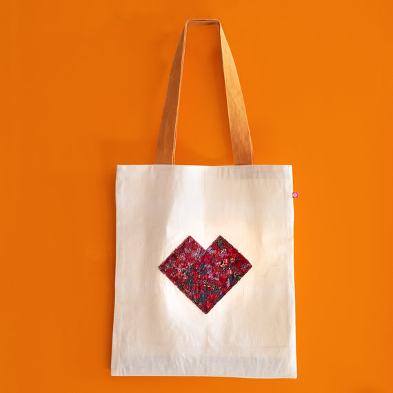 Equal Love Red Tote Bag