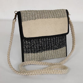 Black and Grey Handcrafted Sling