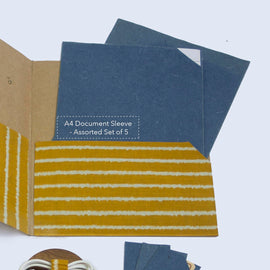 A4 Document Sleeve - Set of 5