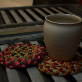 Braided Coaster Set - REFASH