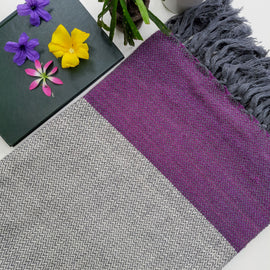 Lavender Sofa Throw