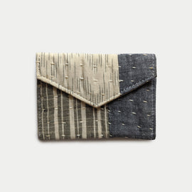 Grey and White Wallet