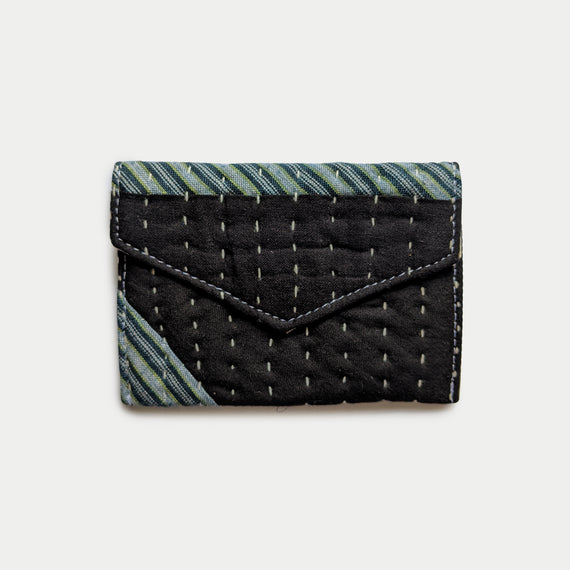 Black & Teal Wallet