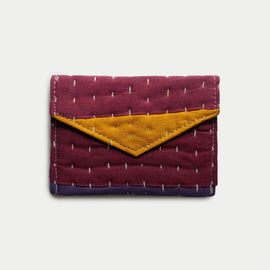 Magenta and Yellow Wallet