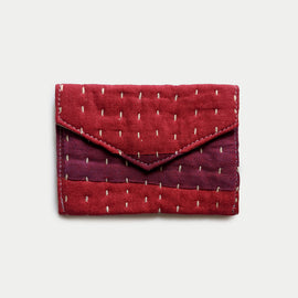 Purple and Red Wallet