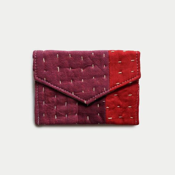 Magenta and Red Wallet