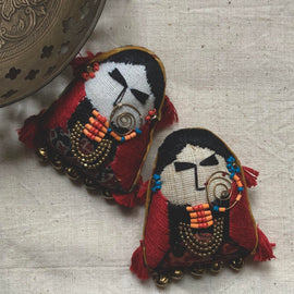 Woman of Kutch Brooch Pin