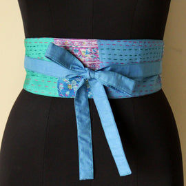Dayflower Obi Belt