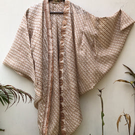 ReSaree High Tea Shrug