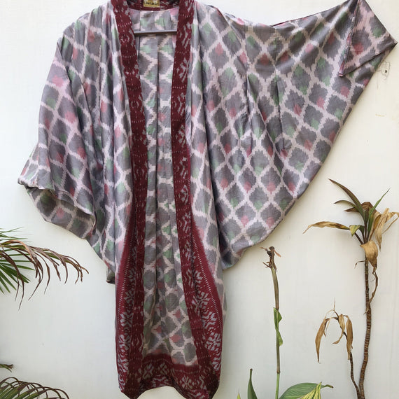ReSaree Ikat Shrug