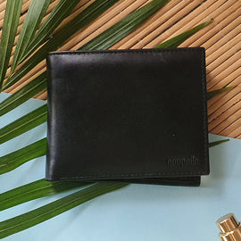 Black Wallet with Card Case