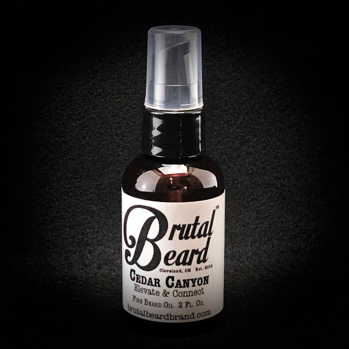 Cedar Canyon Fine Beard Oil 2oz.
