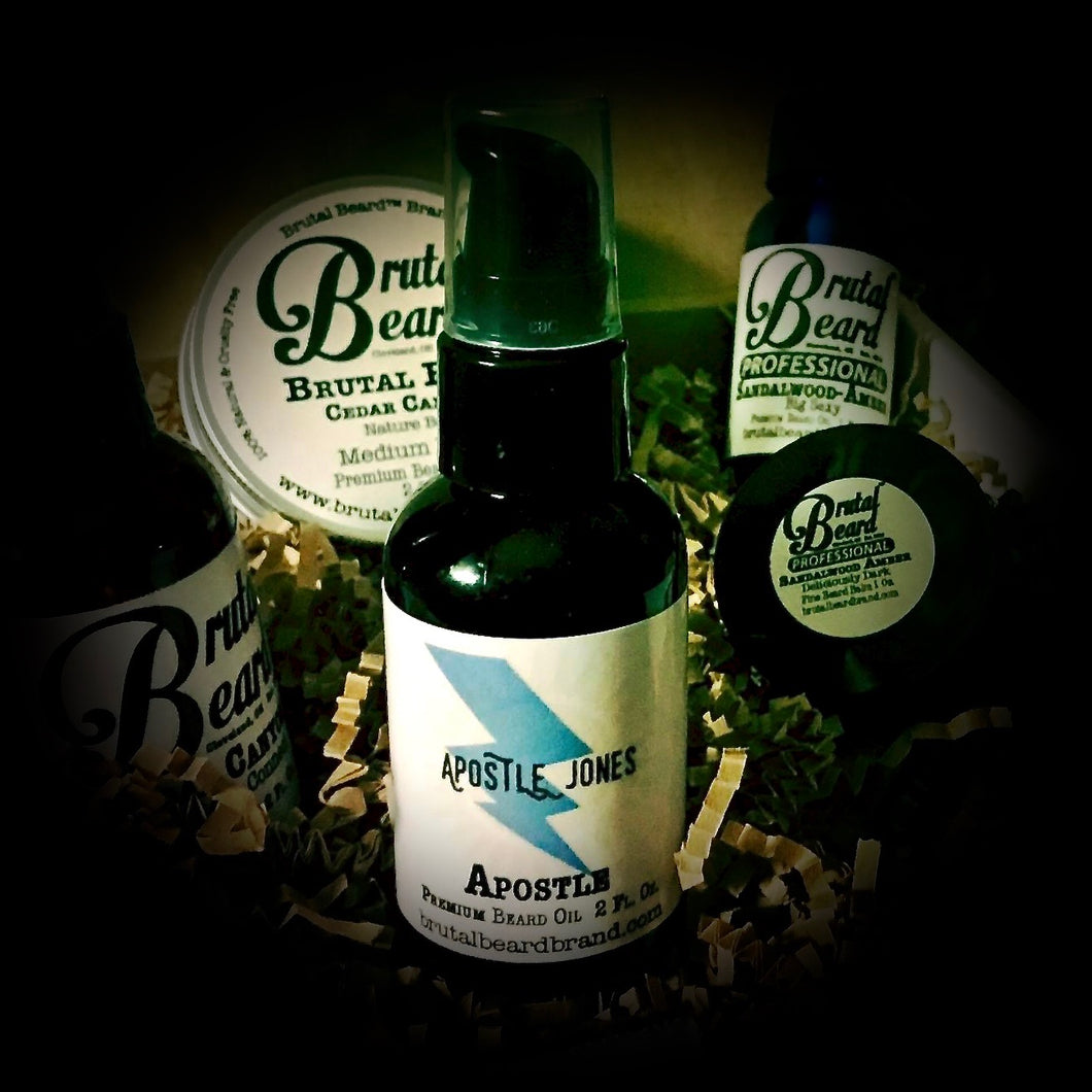 Apostle Beard Oil by Apostle Jones - Brutal Beard