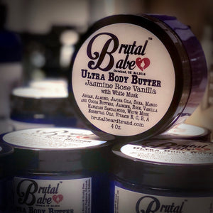 Brutal Babe Ultra Moisturizing Body Butter 4oz - Brutal Beard