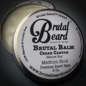 Cedar Canyon Brutal Balm Medium Hold